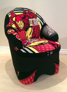 delta spiderman upholstered chair  superhero toddler room pinterest spiderman chairs