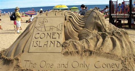coney island contest coney island sand sculpting contest buzz