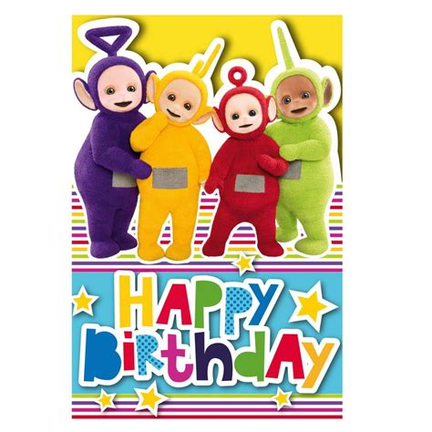 Teletubbies Birthday Cards Assorted Ebay