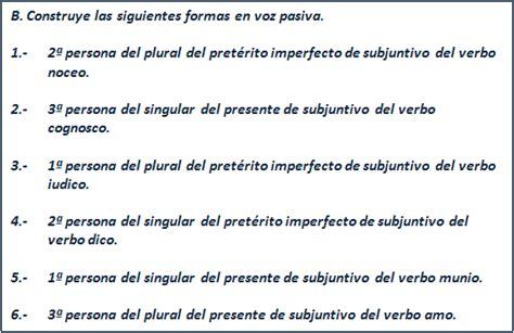 preguntas ingles voz pasiva voz pasiva presente e imperfecto de subjuntivo