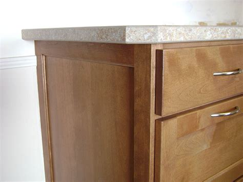 Kitchen Cabinet Ends | sparrow bush solid mccanless kitchen