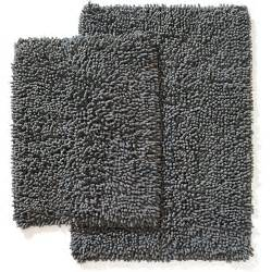 chenille shaggy 2 bath rug set unassigned home
