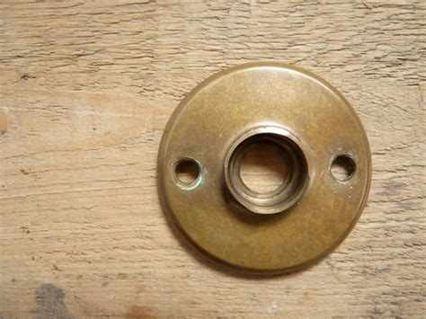 antique vintage doorknob cover rosette door knob plate