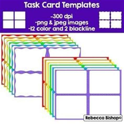 lynette task card template 1000 images about task cards on task cards