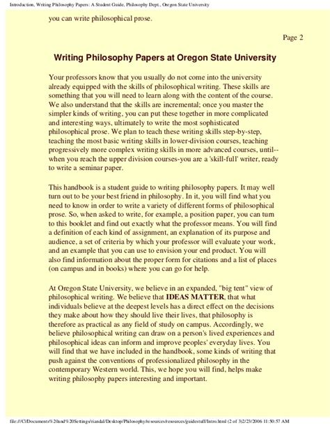 tips on writing a philosophy paper philosophy paper writing guidelines tips for writing a