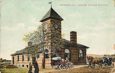 pittston pa lehigh valley station depot bicycle