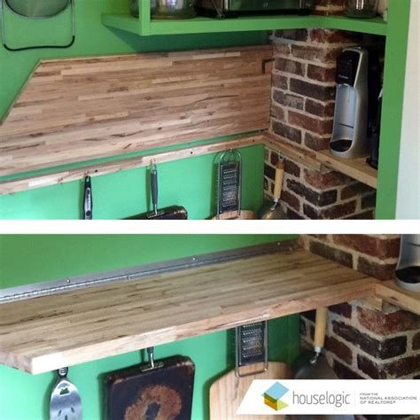 Folding Countertop by Fold Counter In A Small Kitchen Hometalk