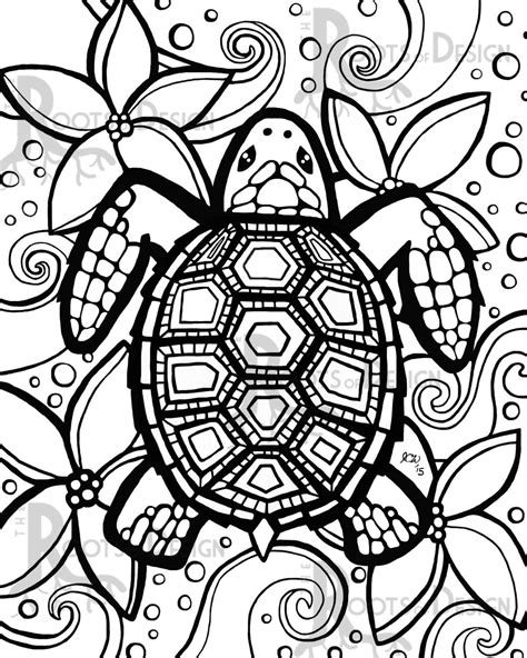 turtle coloring page coloring pages turtle timykids