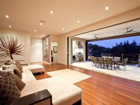 Brown living room idea from a real Australian home Living Area photo 387849