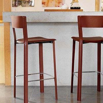 fancy leather bar stools best design within reach products on wanelo