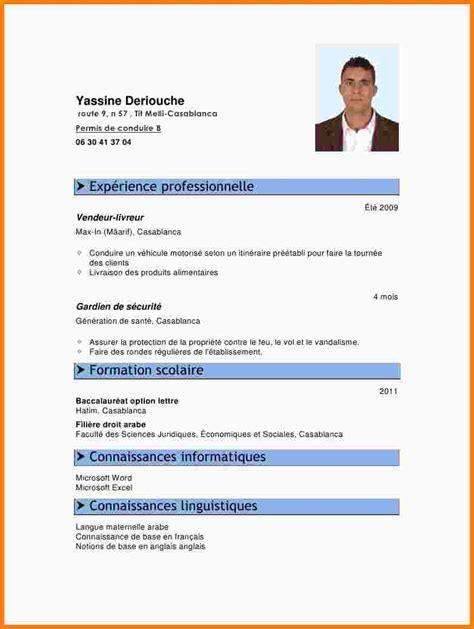 modele cv en anglais gratuit pdf