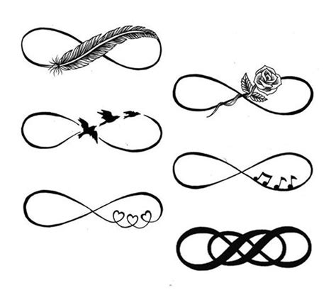 infinity tattoo vorlagen 25 best ideas about infinity tattoos on pinterest