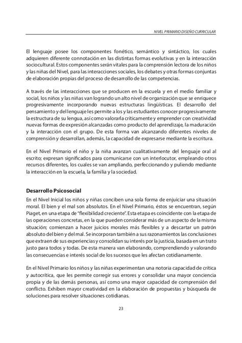Diseño Curricular Dominicano Nivel Primario Diseno Curricular Nivel Primario 1er Ciclo