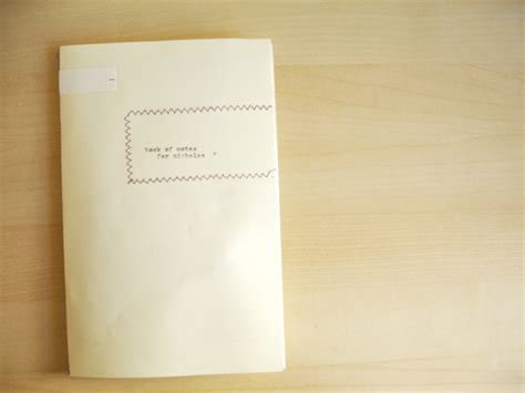 How To Make An Envelope Out Of Notebook Paper - notebook ideas 19 envelope and scrap paper notebooks