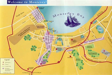 california map monterey ivec 2002 monterey area map