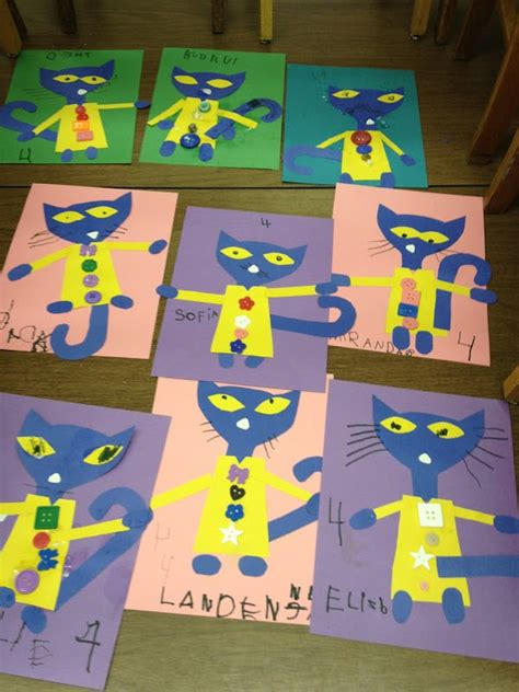 pattern cat art lesson mrs goff s pre k tales we love pete the cat