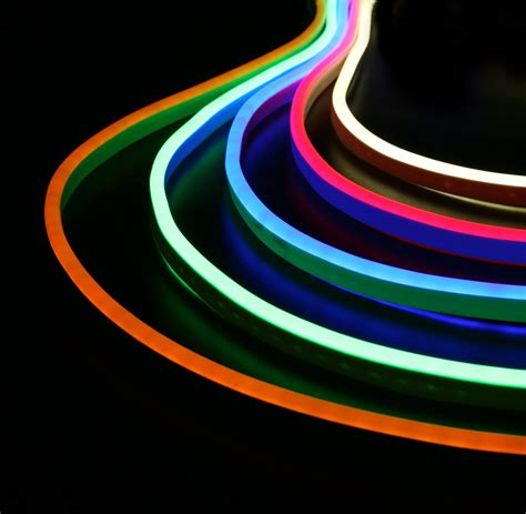Led Neon ip66 led neon rope light 50meter warm white cool white rgb smd2835