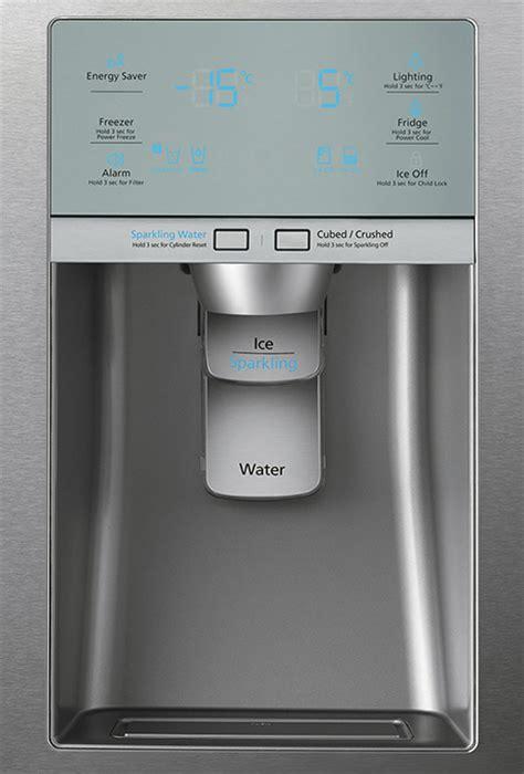 Samsung Door Refrigerator Temperature Settings by Samsung Door Refrigerator With Integrated Soda