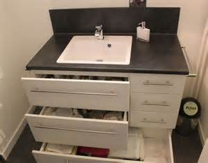 petit meuble de salle de bain sur mesure fonctionnel
