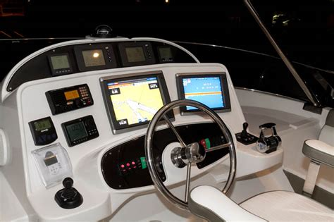 Limited Helm Organizer review mckinna yachts 70 pilothouse motoryacht mckinna