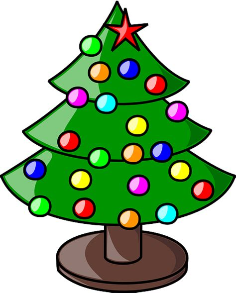 christmas tree cartoon ria9dedil public domain decorations pictures decorations tree free trees