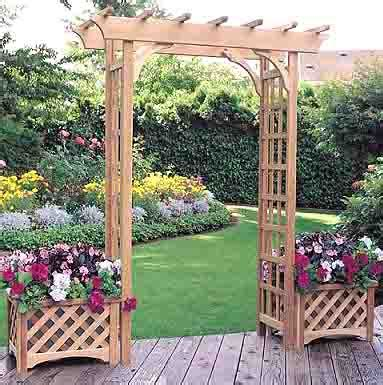 Arbor With Planters by Custom Storage Sheds San Antonio Garden Planter Arbor