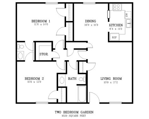 typical square footage of a bedroom typical square footage of a 2 bedroom apartment home