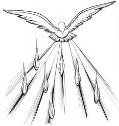 holy spirit coloring page holy spirit pentecost coloring pages