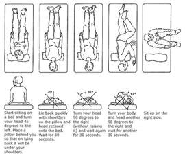 home epley maneuver epley maneuver how to treat bppv at home dizzy quiz
