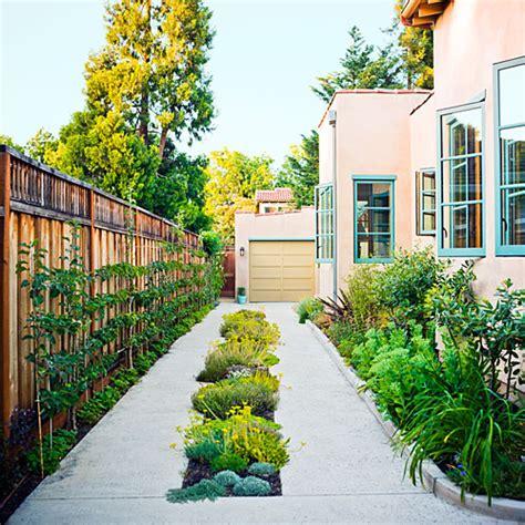 Driveway Garden Ideas Reinvent The Driveway Sunset