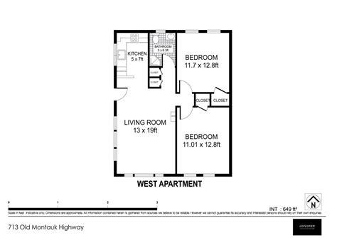 Easy Floor Plan Creator west floor plan montauk beach bungalow