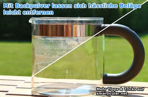 Kaffeekanne Reinigen Backpulver by Mit Backpulver Reinigen Weie Zhne Mit Backpulver Bekommen