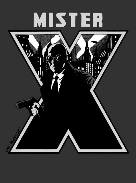 Muster X Mister X By Hal 2012 On Deviantart
