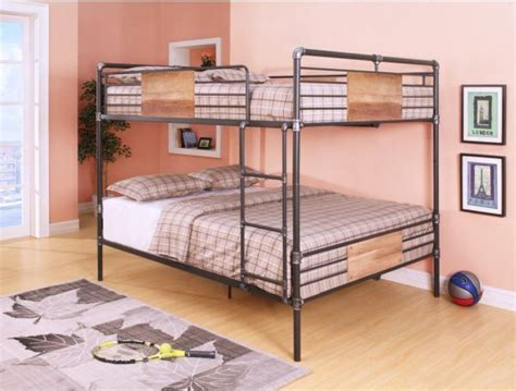 queen size bunk bed frame queen size bunk bed frame metal vs wood material pros and cons