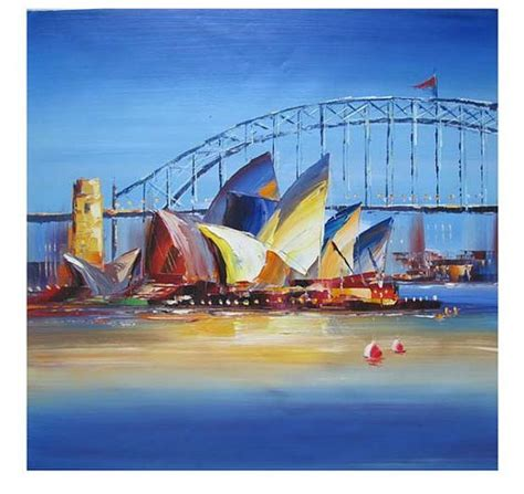 house painter sydney abstract oil opera house and abstract oil paintings on pinterest