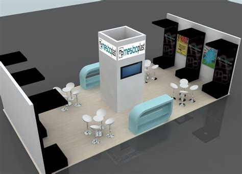 design booth simple with what software i can create 3d expo booth designs
