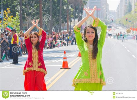 new year 2015 los angeles ca dancers performing editorial image image 51770305