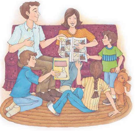 Family Home Evening Clipart by Evening Clipart Clipart Panda Free Clipart Images