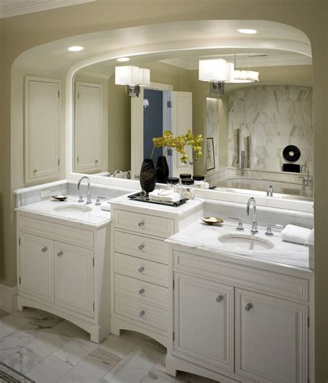 Two Vanity Bathroom Designs Bathroom Cabinet Ideas Bathroom Transitional With