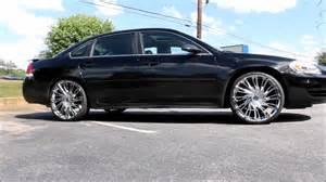 2007 chevy impala on 22 quot 469 rims and lexani tires