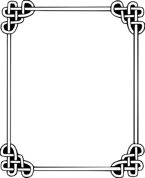 frames vector free celtic frame clip vector clip royalty