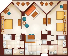 Disney Vero Cottage Floor Plan - disney vacation club vero floor plans