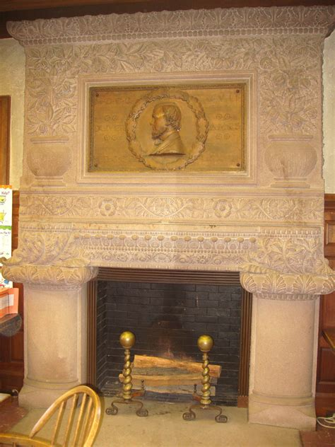 Fireplace Ma by File Ames Free Library Easton Ma Interior