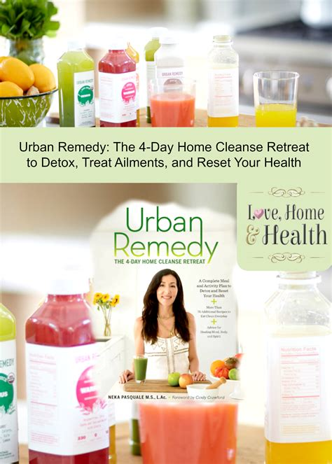 4 Day Detox Retreat by Remedy A 4 Day At Home Cleanse Retreat