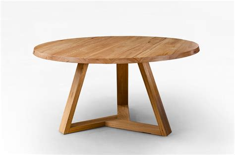 Table Tripod by Tripod Dining Table Blackbutt Lacewood Furniture