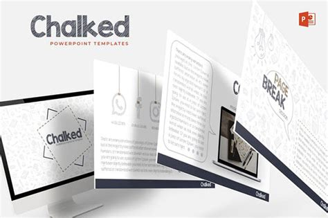 20 Impactful Hand Drawn Powerpoint Templates Web Graphic Design Bashooka Impactful Powerpoint Templates