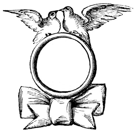 black and white wedding ring clipart 101 clip