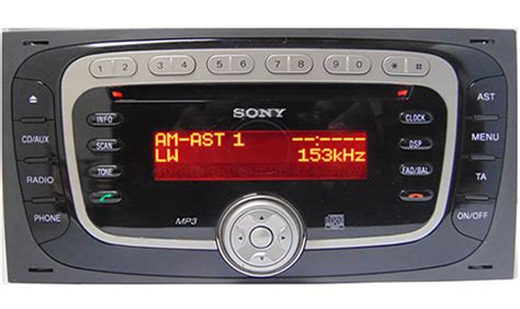 how to get radio code for ford ford sony mp3 radio codes unlock your ford radio