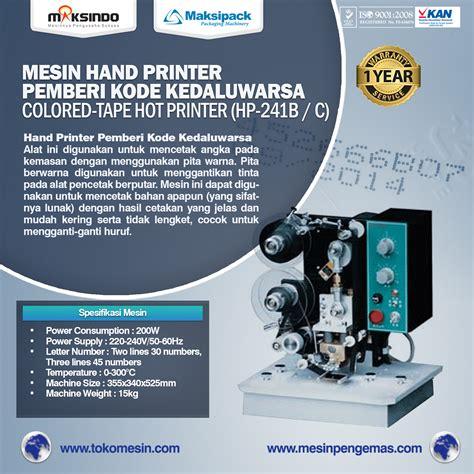 Mesin Bordir Manual Di Surabaya jual mesin printer di semarang toko mesin maksindo