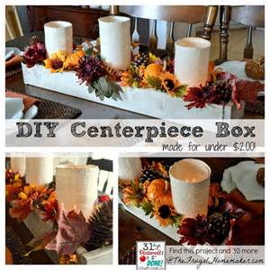 Glass Trough Vase Diy Wood Centerpiece Box Day 30 Of 31 Days Of Pinterest